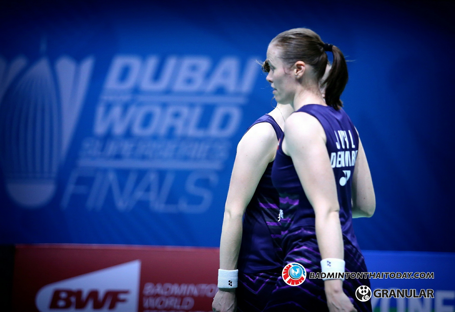 Kamilla Rytter Juhl - Christinna Pedersen @ Dubai World Superseries Final 2016 รูปภาพกีฬาแบดมินตัน