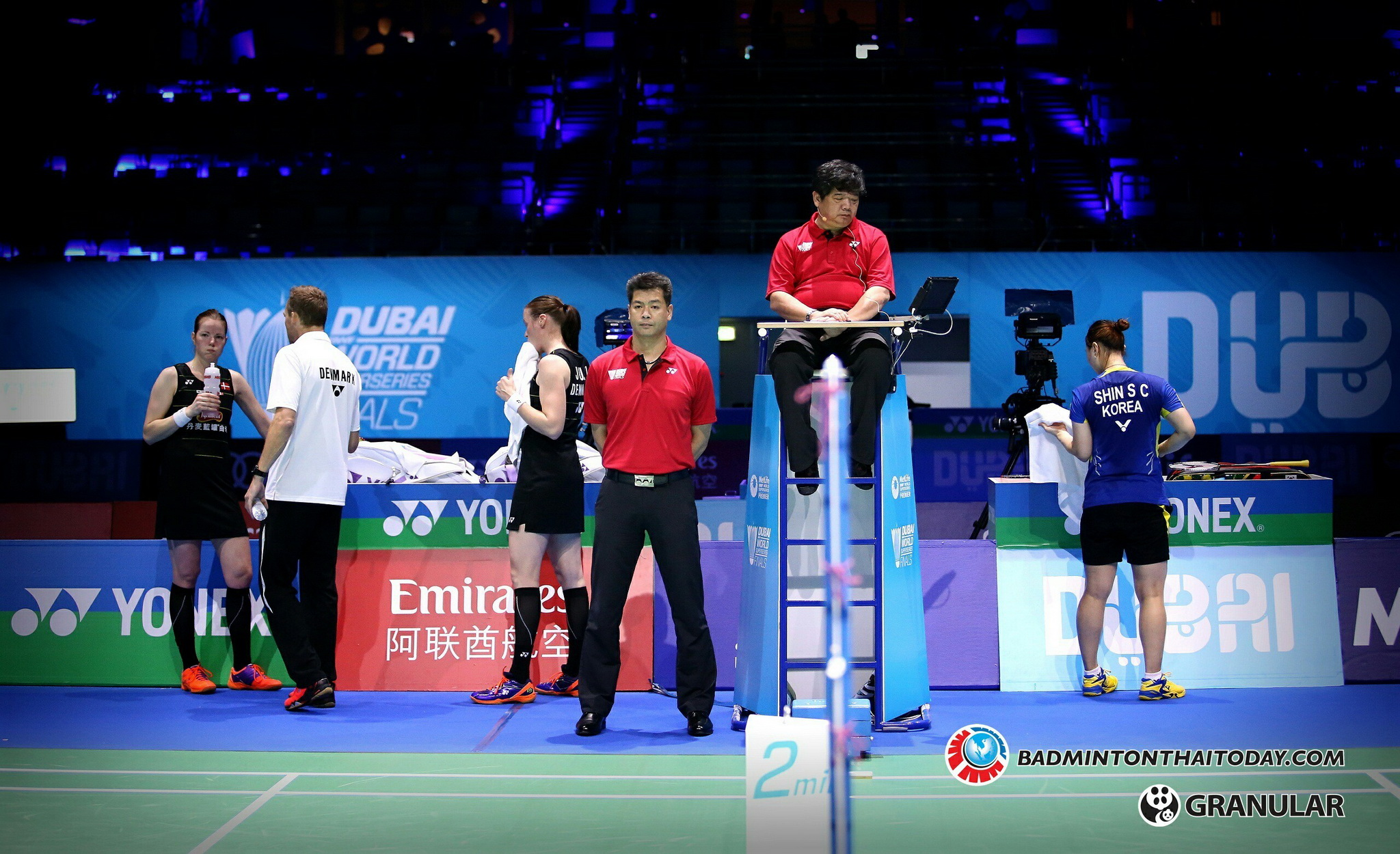 Kyung Eun Jung - Seung Chan Shin @ Dubai World Superseries Final 2016 รูปภาพกีฬาแบดมินตัน