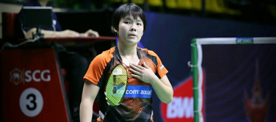 """Goh Jin Wei"" Lastest wonderful girl in Badminton."