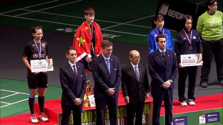 ทัพเยาวชนจีนผงาดแบดชิงแชมป์เยาวชนโลก Badminton Thai Today