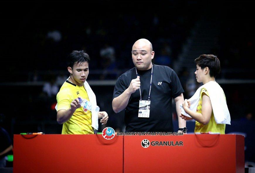 บาส ปอป้อ ชนะคู่มือดีจากอินโดนีเซีย 2 0 เกม ในศึกชิงแชมป์เอเชียที่