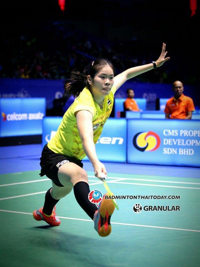 ครีม แพ้ CHEN Yufei 2 0 เกม ในศึกชิงแชมป์เอเชียที่จีน Badminton
