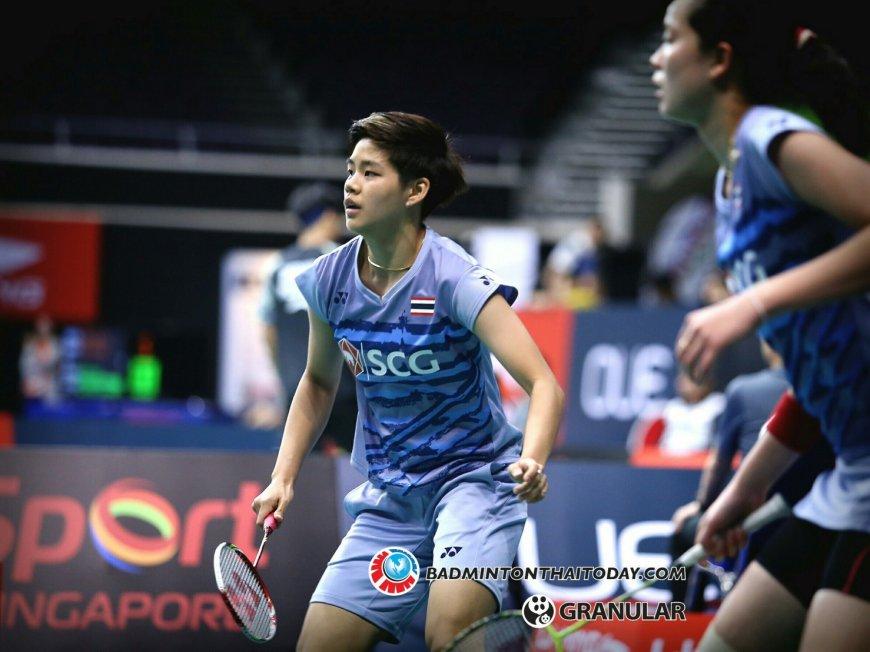 เอิร์ธ ปอป้อ แพ้คู่จากมาเลเซีย 1 2 เกม ในศึกชิงแชมป์เอเชียที่จีน