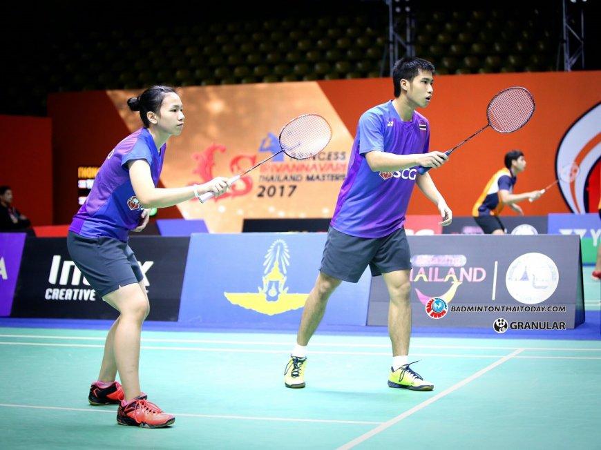 เชียร์นักแบดไทยชิงแชมป์เอเชีย รายการนี้ไม่มีออมมือ Badminton