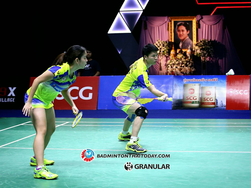 คู่ดาวรุ่งจากจีนคว้าแชมป์คู่ผสมชนะคู่จากมาเลเซีย 2 1 เกม Badminton