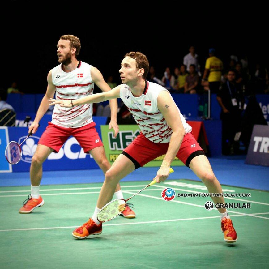 """สงครามชายคู่"""" ประเภทที่ดูยากที่สุดว่าใครจะเป็นแชมป์โลก Badminton"""